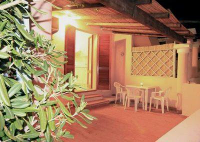 casa vacanze Ametista, spazio esterno pergolato