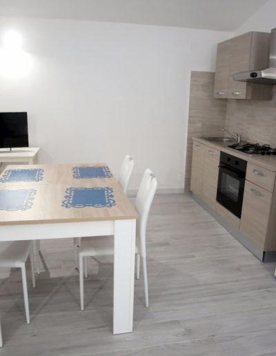 zona pranzo, appartamento Perla, Calasetta